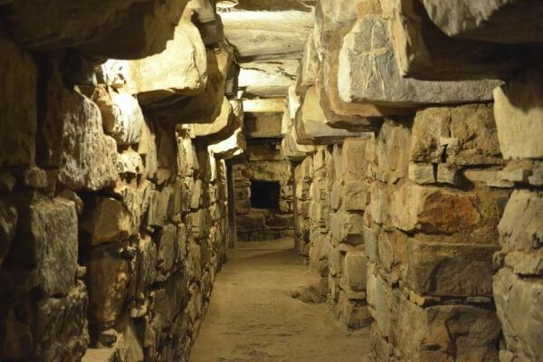 templo viejo y templo nuevo de Chavín de Huántar
