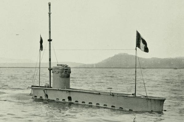 historia submarino motor de explosión