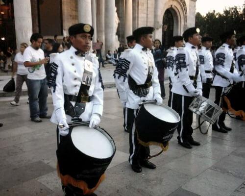tambor militar