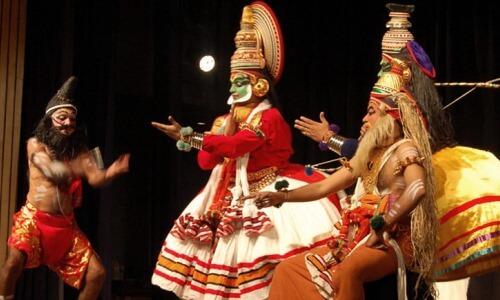 teatro indio Kathakali