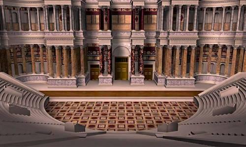 teatro romano de pompeyo