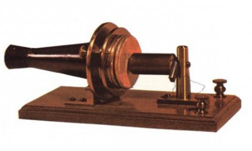 El primer modelo de teléfono Bell