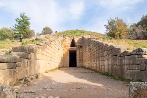 historia del tesoro de Atreo
