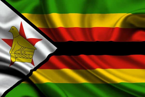 significado colores bandera Zimbabue