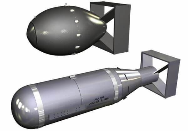 evolución de la bomba