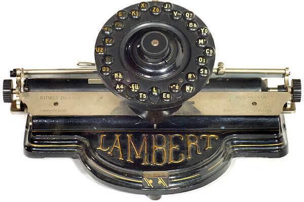 primer tipografo de la historia