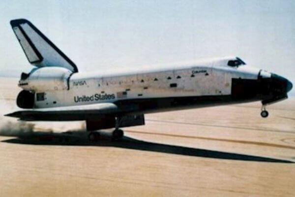 funcionamiento transbordador espacial