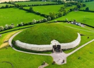 origen e historia tumba de Newgrange