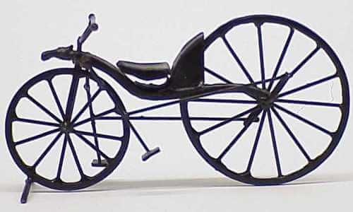 primera bicicleta gobernable