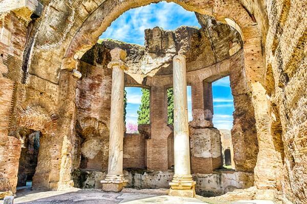 villa de Adriano historia
