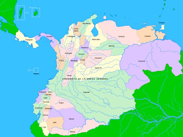 ¿Qué fue el Virreinato de Nueva Granada?