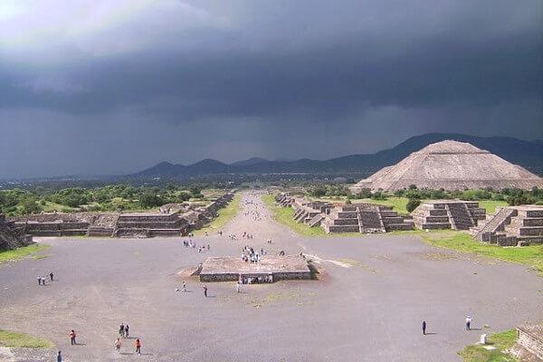 piramide del sol en teotihuacan ubicacion